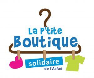 Logo La P'tite Boutique Solidaire de l'Asfad