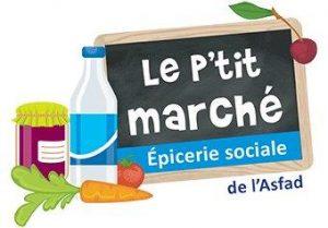 Logo Le P'tit Marché - Epicerie Sociale