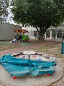 Jardin crèche garde d'enfants Rennes Beauregard
